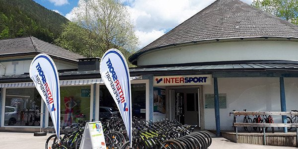 Bikeverleih INTERSPORT Alpensport am Weissensee