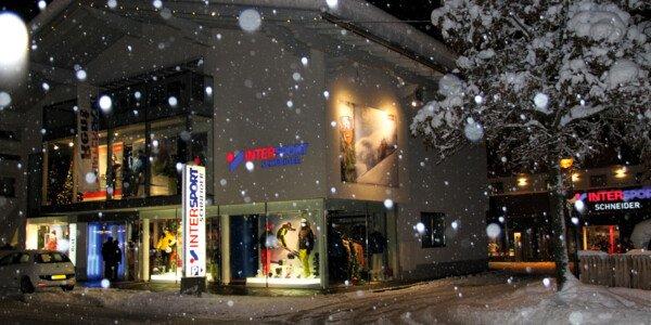 ski shop display salzburg sportwelt ski rentals and excellent customer service